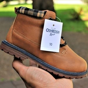 NEW OSH KOSH B'GOSH TODDLER BOYS TAN BROWN BRAXTON
